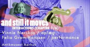 Talk og performance: Interventions, 1/6