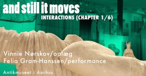 Talk og performance: Interactions chapter 1/6