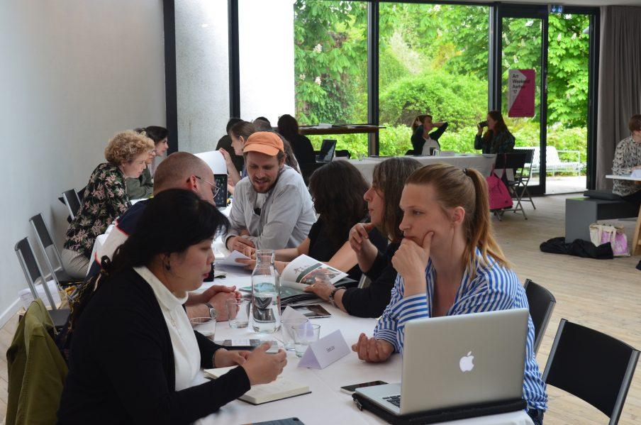 Online portfolio review til Art Weekend Aarhus 2020